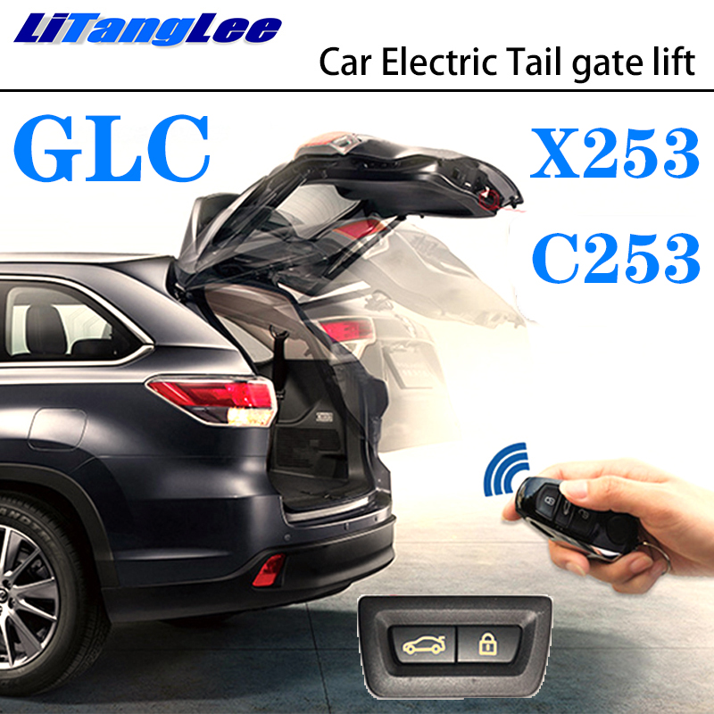 LiTangLee Car Electric Tail Gate Lift Trunk Rear Door Assist System For Mercedes Benz MB GLC Class X253 C253 2015~2019