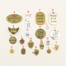 20Pcs Wholesale Bulk Diy Jewelry Accessories Handmade Hand Made Charms Charm Women Backless Dress HK006