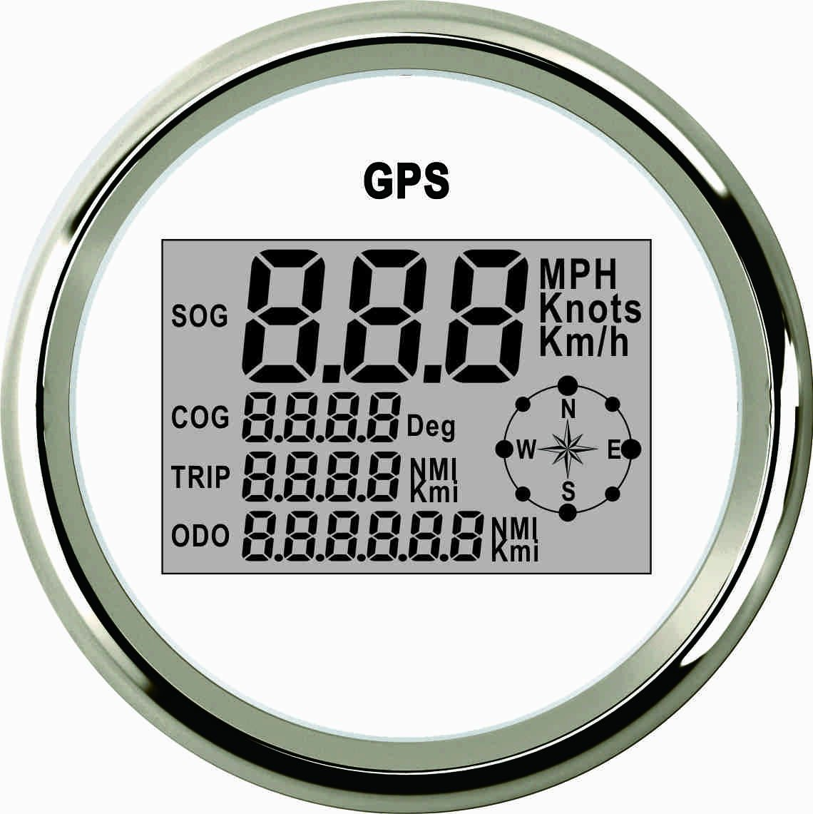 Samdo 85mm Sog Cog Odo Trip Meter For Motorcycle Car Truck