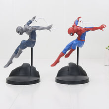 Nova chegada 18 centímetros spiderman The Amazing Spider Man PVC Figura Collectible Toy Modelo(China)