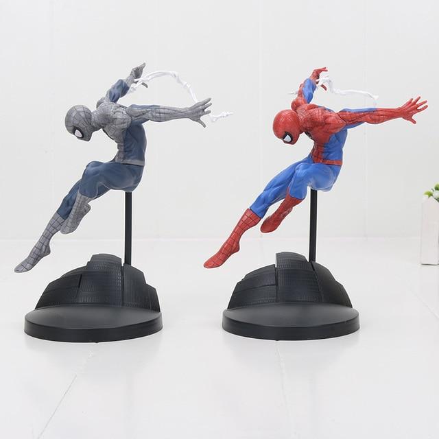 Nova chegada 18 centímetros spiderman The Amazing Spider Man PVC Figura Collectible Toy Modelo