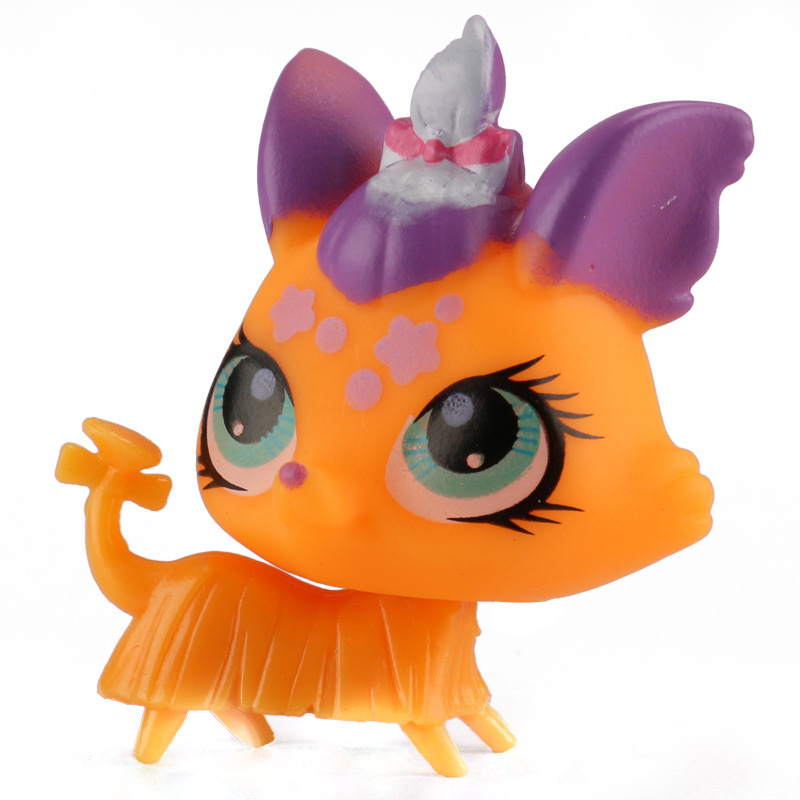 Hot 5pcslot Kids Toys Kawaii Littlest Pet Shop Lps Toys Animal