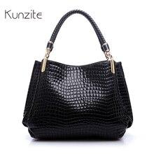 Luxus Frauen Designer-handtasche Hohe Qualität Marke Krokoprägung Leder Dame Tragbare Einkaufstasche Sling Satchel Sac Ein Haupt Femme