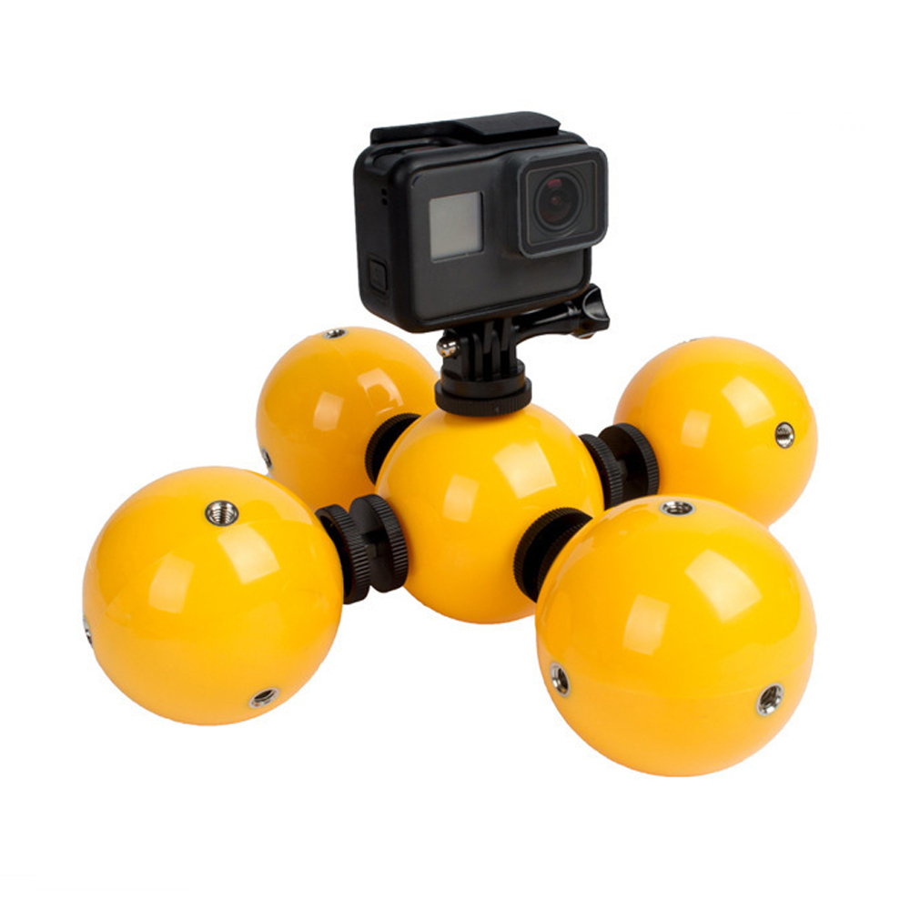 Sport Camera Bobber Floating Handheld Buoyancy ball water photography buoy Stick Hand Grip Monopod for GoPro