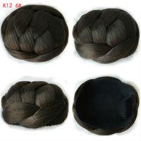 60g 10CM New Clip In Bun Hair Chignon Bun Wig Hair Ponytail Drawstring Bun Hairpieces Pony