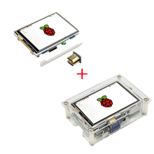 Cheapest prices Newest 3.5 inch Raspberry Pi 3 TFT  Touch Screen 480 x 320 LCD Dispaly Module Brightnest Adjustable + CD support Ubuntu Kali