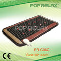 Photon and tourmaline pad with heat PR-C06C 45X80cm flat from POP RELAX
