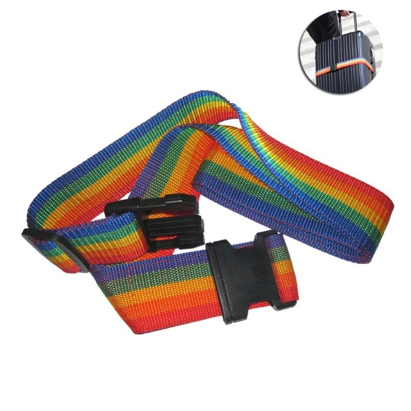New Adjustable Travel Luggage Belt Strap With Password Lock Nylon Band