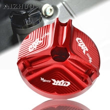 Motorcycle Engine Oil Filler Cup Cap Oil Filler Cap Plug Cover For HONDA CBR600RR CBR 600RR  CBR600 RR CBR 600 RR 2003-2018 все цены