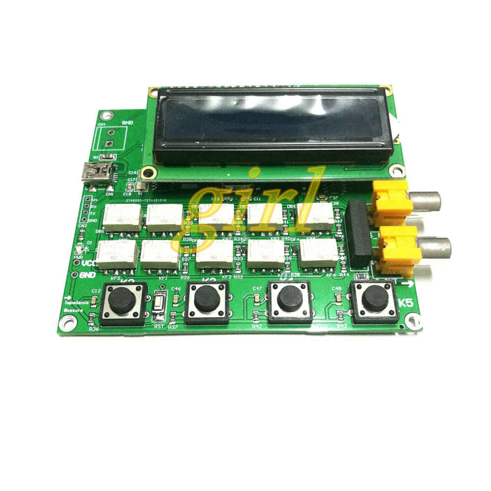 AD5933 impedance measurement development board evaluation