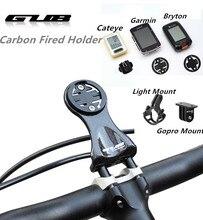 Gub 693 カーボンファイバーサイクルコンピュータハンドルホルダーバイク保持テーブルブラケットmtb道路自転車のステムランプマウント 16 グラム
