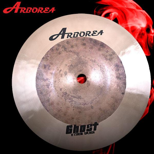 Arborea Handmade Cymbal Ghost  series 8 splash handmade cymbal arborea hybrid ap 16crash
