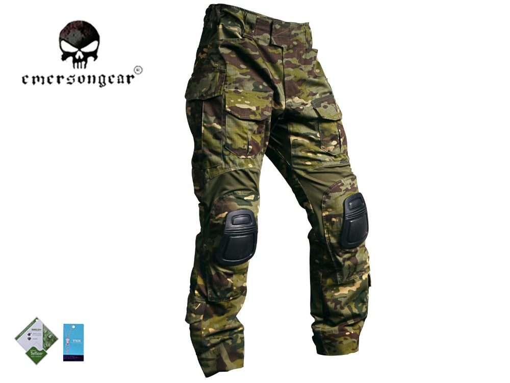 Bdu-Pants Knee-Pad Multicam Tropic EMERSON Combat G3 Military Hunting Men with EM9281