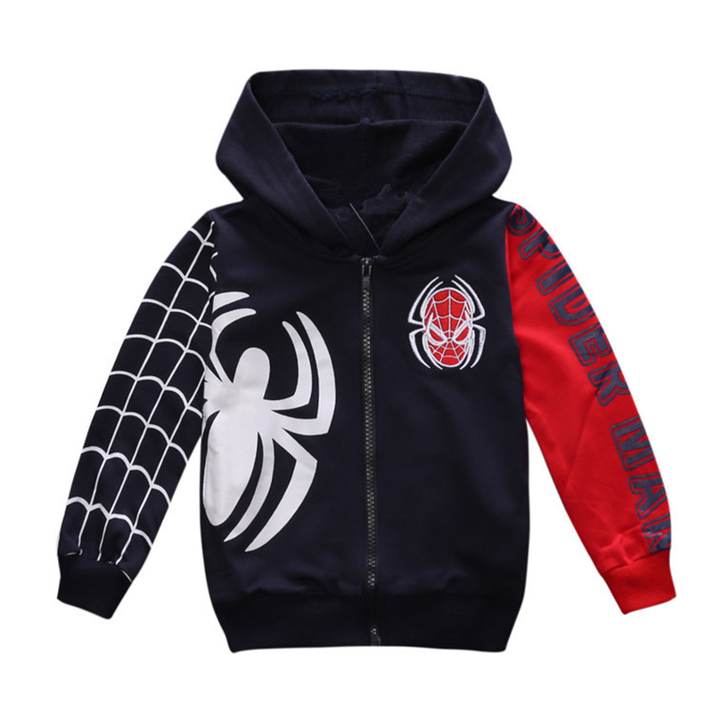 New 2018 Spring Spider Man Jacket for Kids Clothes Spider-man Coat Baby Boys Hoodies Warm Kids Boys Fashion OuterwearNew 2018 Spring Spider Man Jacket for Kids Clothes Spider-man Coat Baby Boys Hoodies Warm Kids Boys Fashion Outerwear
