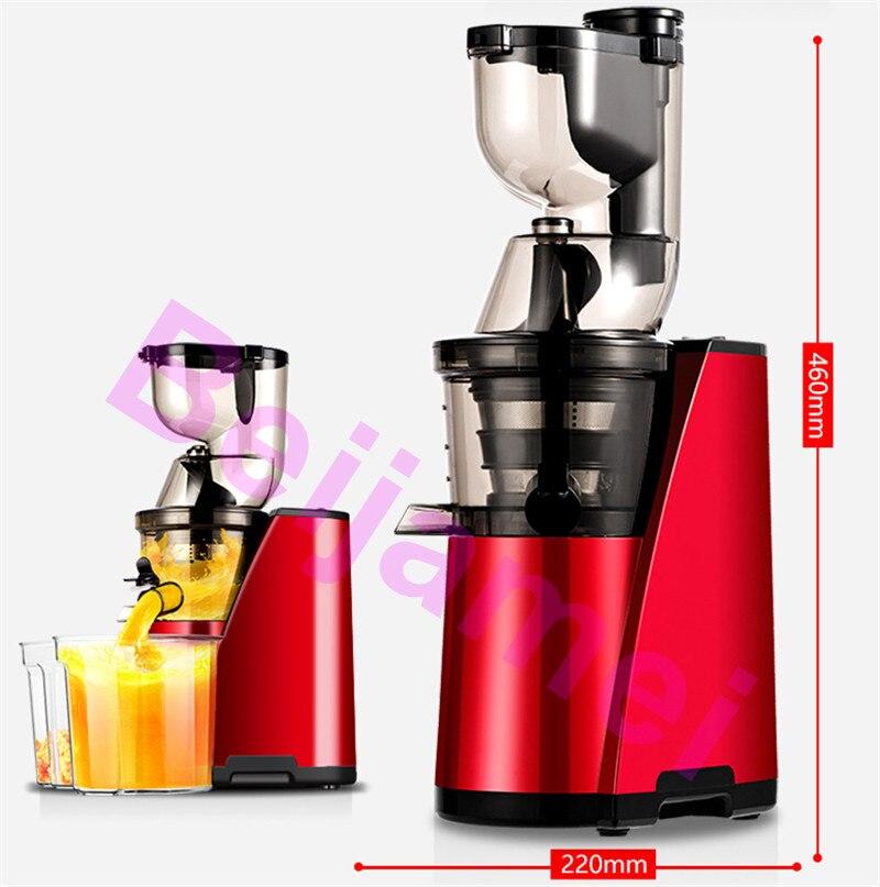 fruit juicer size