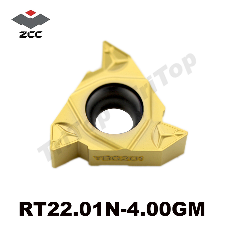 22IR 4 00GM ZCC CT Internal Threading insert RT22 01N 4 00GM YBG201 General pitch threading