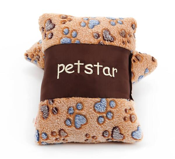On sale Pets interactive sound toys educational toys pet dog cat soft pillow pets products 1pcs
