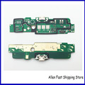 Original para nokia lumia 1320 placa usb plugue carregador de carregamento porto dock connector flex cable substituição de peças de telefone celular
