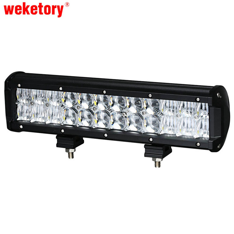 weketory 12 inch 120W 5D LED Work Light Bar for Tractor Boat OffRoad 4WD 4x4 Truck SUV ATV Spot Flood Combo Beam 12V 24v car styling 120w 10 9inch led light bar offroad 24v cree chip driving work lamp for truck suv atv 4x4 4wd spot flood combo beam