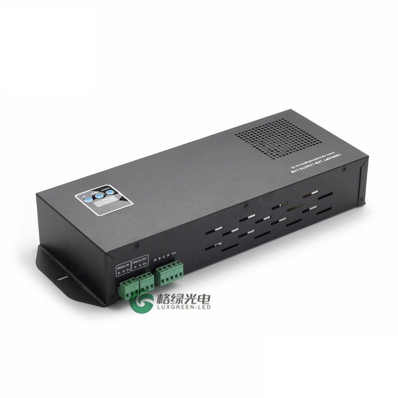 ФОТО Sound control DMX512 rgbw LED strip dimmer controller for RGB/RGBW 3years warranty 110V/230V INPUT