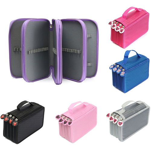 Multilayer High Capacity Pen Pencil Case Box Stationary School Supplies Makeup Storage Bag spark storage bag portable carrying case storage box for spark drone accessories can put remote control battery and other parts