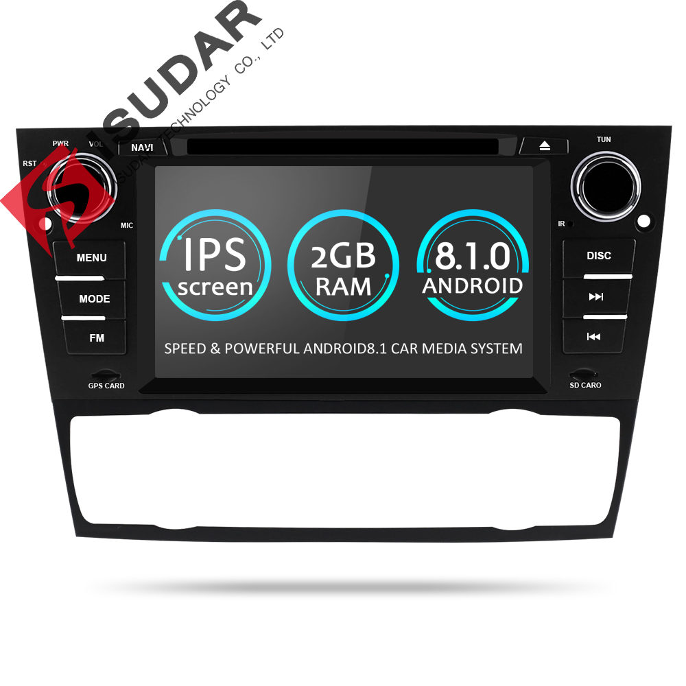 все цены на Isudar 1 Din Car Multimedia Player GPS Android 8.1 For BMW/320/328/3 Series E90/E91/E92/E93 DVD Player Radio FM Quad Core 2+16GB онлайн