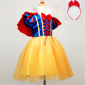 Disney Girls Princess Dress For Baby Kids Costumes Party