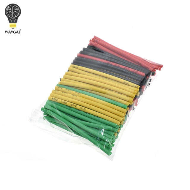 127Pcs / 328Pcs Car Electrical Cable Tube kits Heat Shrink Tube Tubing Wrap Sleeve Assorted 8 Sizes Mixed Color 4
