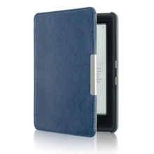 Case for KOBO GLO HD 6.0 eReader Magnetic Auto Sleep Cover Ultra Thin Hard Shell (Dark blue)