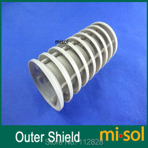 plastic outer shield for therm