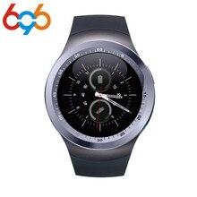 696 Tela de Toque Inteligente Relógio Y1 Atividade de Fitness Rastreador Smartwatch Men Women Watch suporte SIM card TF Diveces Wearable