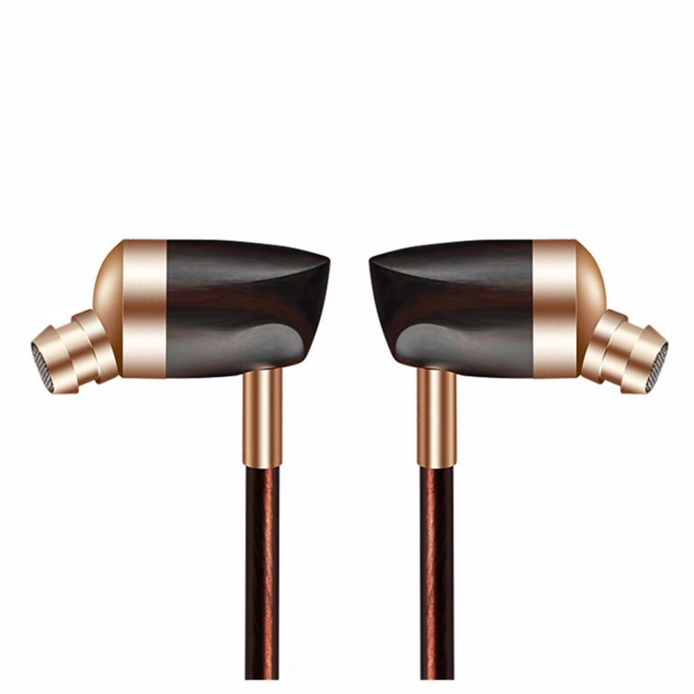 2017 Newest BOSSHIFI B3 Dynamic and Armature 2 unit Wood Earbuds HIFI Ebony Moving Iron&Coil In-Ear Earphone DIY Wooden Headset комплект 3d ковриков в салон автомобиля novline autofamily renault logan 2004 2009 2010