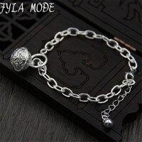 Promotion Wholesale 925 Fine Bracelet 925 Fine Fashion Jewelry Bell Charms Bracelet For Women 18 1