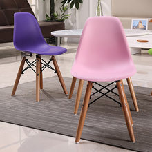 Children chairs kids Furniture Plastic PP +wooden Kindergarten Dining Chair kids Chair 56*30*26 cm quality 2018(China)