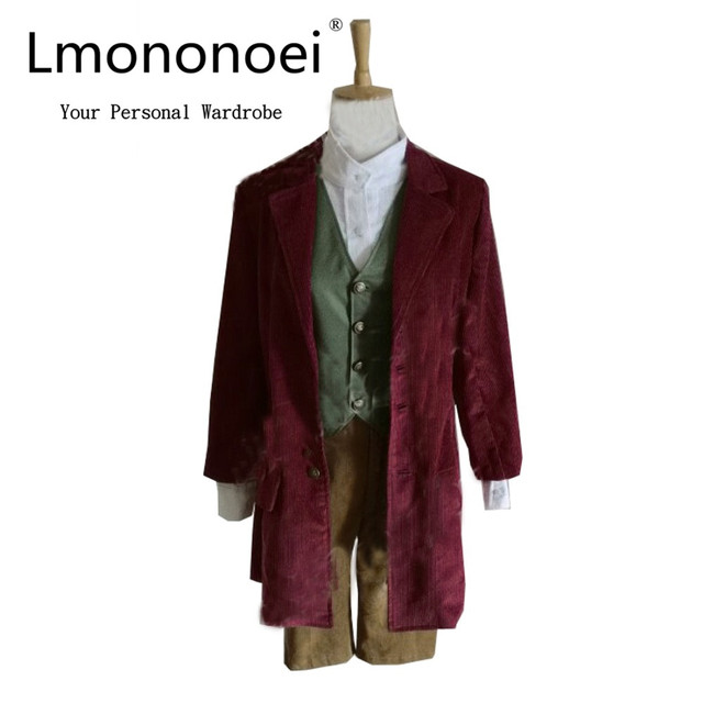 2017 The Hobbit Lord Of The Rings Bilbo Baggins Cosplay Costume On