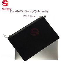 100%New Original A1425 LCD Assembly 2012 For MacBook Pro Retina A1425 Display Assembly MD212 MD213 ME662