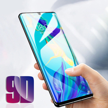 9D Full Cover Protection Glass  Huawei p30 pro lite Screen Protector Tempered For p20