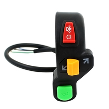 New Motorcycle Switch Three-in-one Combination Switch Turn Signal Horn Refit Switch soarhorse combination switch indicator turn signal switch headlight wiper switch for mitsubishi pajero montero mk2 1990 2004