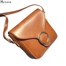 New Design Women Flag Bags Vintage Fashion Handbag Solid PU Leather  Shoulder Bag Large Tote Ladies 018c29ae17967