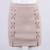 2016 de alta calidad de cuero de imitación gamuza falda para mujer 90 s classic vintage todo-fósforo de la alta cintura con cordones partido bodycon corto faldas