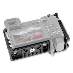 Image 2 - SmallRig Für Sony A6500/A6300 Kamera Käfig Verbesserte Version Schutzhülle Dslr Kamera Rig Für Sony A6500 Aluminium Legierung Käfig  1889