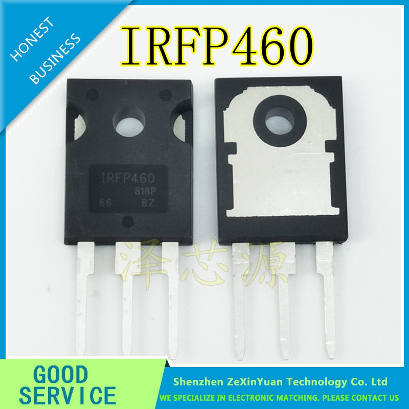 10PCS/LOT IRFP460 IRFP460PBF IRFP460A IRFP460LC TO-247 N-CHANNEL POWER MOSFET TRANSISTOR