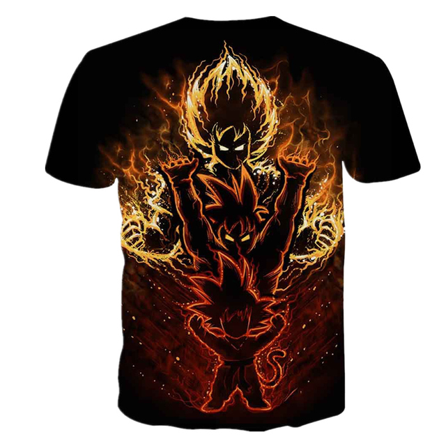 Goku Black Evolution 3D T-Shirt