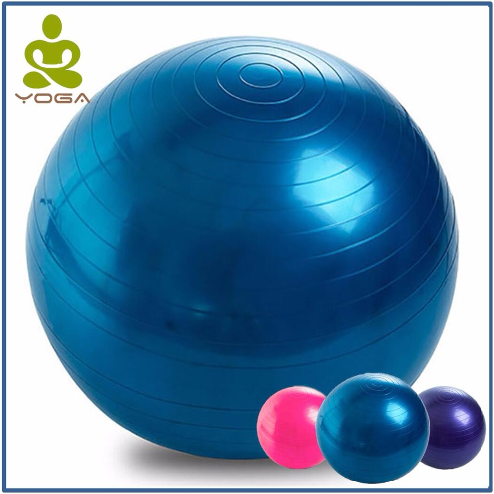 75CM PVC High quality Large Yoga Balls for Fitness with 4 color Option Female Pilates Balls gymnastic Balls Balance