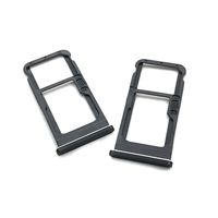 10pcs/lot SIM Card Tray Slot Holder Replacement Parts High Quality For Nokia 6 6 Plus 6+ Sim Tray