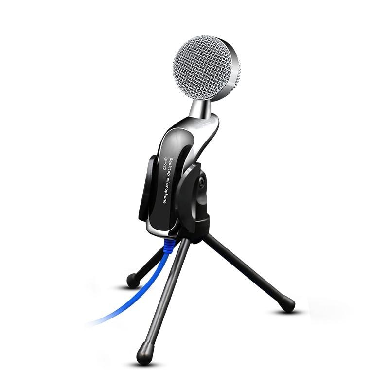 3,5 мм проводной Mcirophone USB конденсаторный микрофон Игры Микрофоны Микрофон Звук Запись для портативных компьютеров PC ...