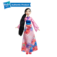 Hasbro Disney Princess Royal Shimmer Mulan Doll Kid Girls Toy Doll Collection 26cm Collection Model Action Figure Birthday Gift