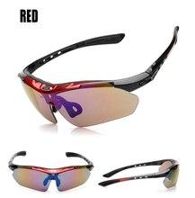 Summer 5 Lens Polarized Goggles Men Fishing Climbing Cycling Sports  Goggle Outdoor Anti-UV Eyewear