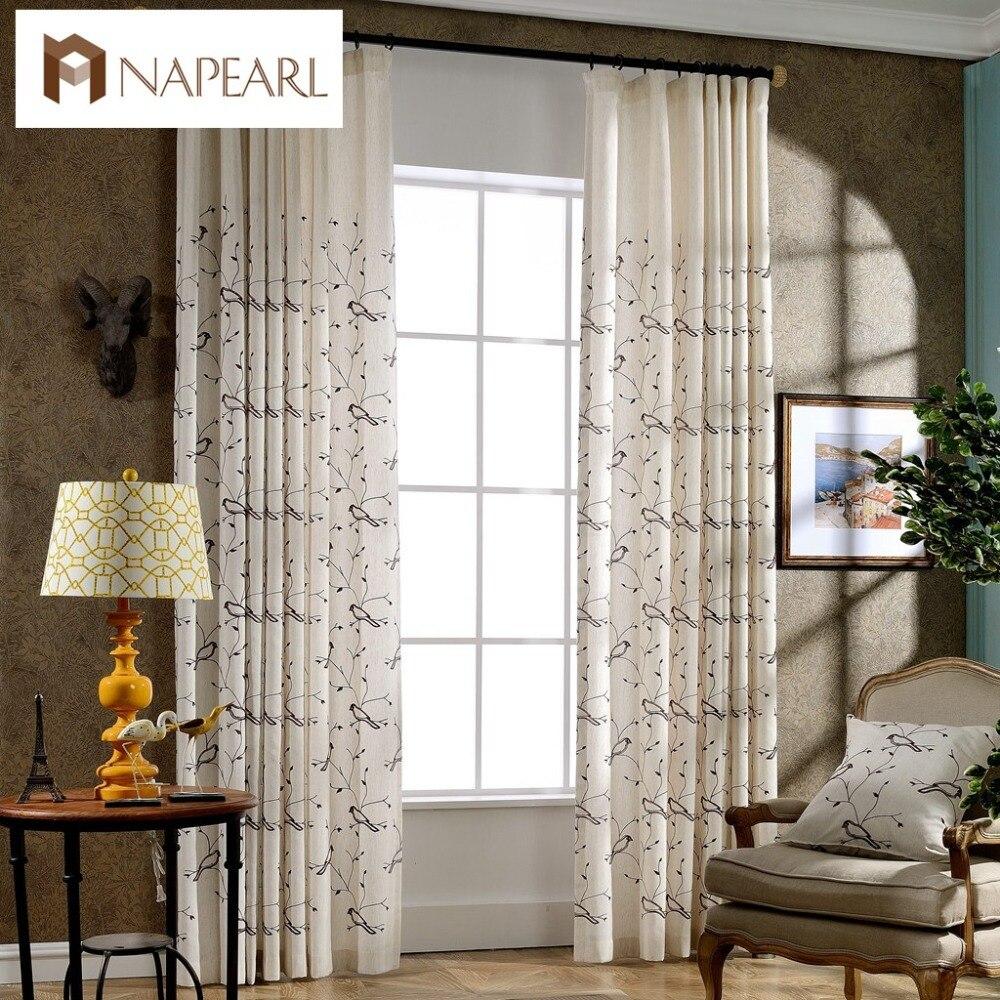 Modern Style Curtains Living Room Online Get Cheap 100 Linen Curtains Aliexpresscom Alibaba Group