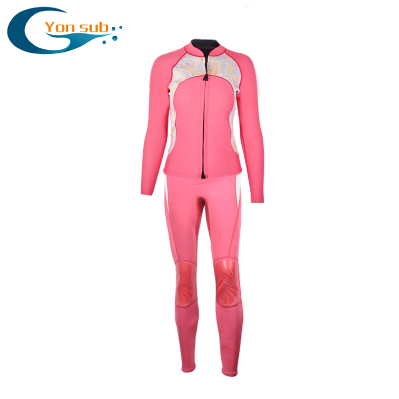 YonSub Semi-dry 2MM Professional Neoprene Scuba Diving Wetsuit Surfing Suit Long Sleeve Split Diving Suit Snorkelling Suit scubapro crystal vu mask for scuba snorkelling diving water sports